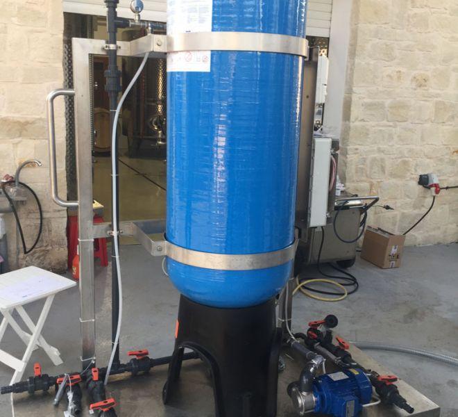 Stabymatic- Wine stabilisation machine